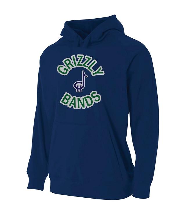 Copper Hills Band Performance Navy Hooded Sweatshirt (Hoodie ... bf4754c4aca10