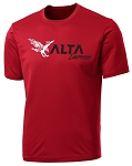 Alta Hawks Lacrosse - Cooling Performance Wicking Red Shooter T-Shirt