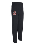 Alta Hawks Lacrosse – Black Fleece Sweat Pants with Pockets (Pant)