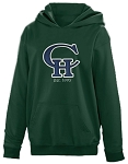 Copper Hills Grizzlies Performance Hooded Green  Sweatshirt
