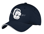 Corner Canyon Chargers Football - Navy - Moisture Wicking Gameday Cap (Hat)