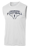 Corner Canyon Chargers Football  - Cooling Performance Muscle Wicking T-Shirt