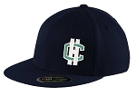 Copper Hills Grizzlies – Flat Bill Logo Navy Cap - Flex Fit (Hat)