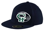 Copper Hills Grizzlies Football   – Flat Bill Game Day Navy Cap - Flex Fit (Hat)