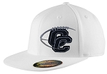 Corner Canyon Chargers Football - White Snap-Back Cap -  (Hat)