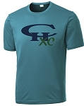 CHXC - Copper Hills Grizzlies Cross Country - Cooling Performance Teal - Wicking T-Shirt