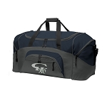Grizzlies Reflective Logo - Large Sport Duffel Bag