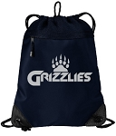 Grizzlies Reflective Logo – Drawstring Backpack Bag