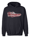 Herriman Mustangs Baseballl Logo Navy Hooded