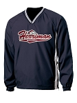 Herriman Mustangs Baseball - V-Neck Wind Shirt