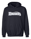 Wolverines Football Hooded Sweatshirt (Hoody) - Hunter
