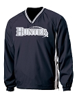 Woverines Football - Sideline V-Neck Wind Shirt - Hunter
