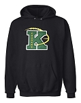 Kearns Cougars K Logo Hooded