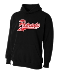 Providence Hall Patriots - Youth Black – Performance Hooded Sweatshirt (Hoodie Hoody)