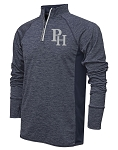 Providence Hall Patriots – Adult 1/4 -Zip Running Jacket – PH Reflective Logo - Navy