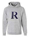 Riverton SilverWolves Girls Lacrosse  Hooded Heather Gray Sweatshirt