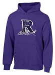 Riverton SilverWolves Girls Lacrosse  Hooded Purple Sweatshirt