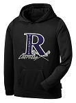 Riverton SilverWolves Girls Lacrosse Polyester Performance Hooded Sweatshirt