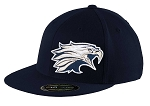 Skyline Eagles Youth Football  – Flat Bill Game Day Navy Cap - Flex Fit (Hat)