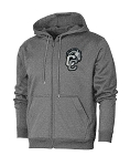 Corner Canyon Chargers Basketball - Performance Dark Heather - Full-Zip Hooded Sweatshirt (Hoodie Hoody)