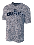 Corner Canyon Chargers Basketball - Space Dyed Navy - Cooling Performance  Wicking T-Shirt