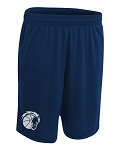 Corner Canyon Chargers Basketball - White - Cooling Performance  Wicking T-Shorts with Reflective Logo