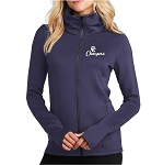 Corner Canyon Chargers Basketball  - Ladies - Navy -Full Zip - OGIO Performance Jacket