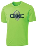 CHXC 2020 - Adult - Copper Hills Grizzlies Cross Country - Cooling Performance Neon Green - Wicking T-Shirt