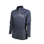 CHXC 2019 Copper Hills Grizzlies Cross Country - Ladies Warm-Up Top 1/4-Zip Running Jacket – Reflective Team logo
