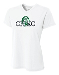 CHXC - Ladies 2019 - Copper Hills Grizzlies Cross Country - Cooling Performance White - Wicking T-Shirt