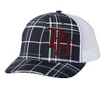 Providence Hall Patriots - Ladies Glitter and Plaid Trucker Hat (Cap)