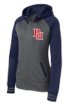 Providence Hall Patriots - ladies Performance Full-Zip Heather Varsity - Hooded Sweatshirt (Hoodie Hoody)