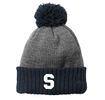 Skyline High School Eagles Basketball - Color Block Cuffed Beanie