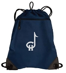 Copper Hills Grizzlies Band Reflective Logo – Drawstring Backpack Bag