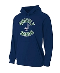 Copper Hills Band Performance Navy Hooded Sweatshirt (Hoodie Hoody)