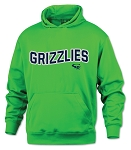 CHXC 2018 Copper Hills Grizzlies Cross Country Performance Neon Green - Hooded Sweatshirt (Hoodie Hoody)