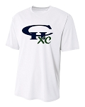 CHXC - Adult 2018 - Copper Hills Grizzlies Cross Country - Cooling Performance White - Wicking T-Shirt