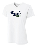 CHXC - Ladies 2018 - Copper Hills Grizzlies Cross Country - Cooling Performance White - Wicking T-Shirt