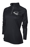 CHXC 2018 Copper Hills Grizzlies Cross Country - Ladies Warm-Up Top 1/4-Zip Running Jacket – Reflective Team logo