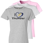 I Heart Thunder T-Shirt