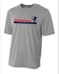 Providence Hall Patriots - Youth and Adult Cooling Performance  Wicking T-Shirt - Heather Gray