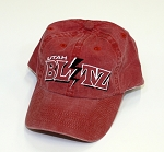 Utah Blitz Football - Vintage Washed - Low-Profile Sidline Cap - Red