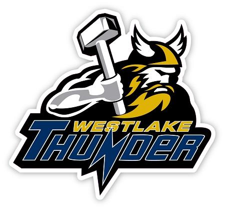 Westlake Thunder Thor Logo Window Decal