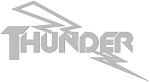 Westlake Thunder and Lighting - Etched Glass Window Decal