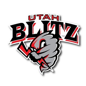Utah Blitz Football Official Logo – 6 Inch Car Decal