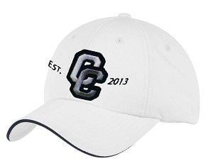 Corner Canyon Chargers Football - White - Moisture Wicking Gameday Cap (Hat)
