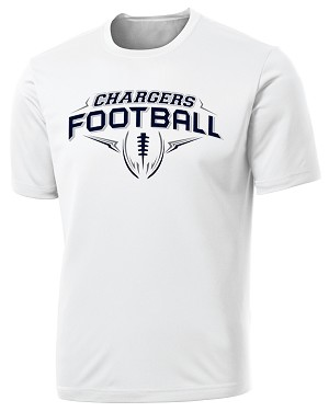Corner Canyon Chargers Football  - Cooling Performance Wicking T-Shirt