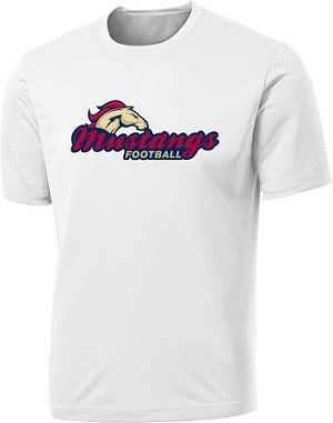 Herriman Mustangs Football - Cooling Performance Wicking T-Shirt