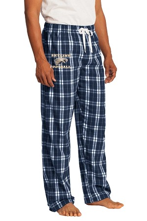 Skyline Eagles Football  - Flannel Plaid Pants - Young Men and Juniors Sizes (Sleep)