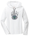 Copper Hills Baseball - Ladies Long Sleeve Hooded T-Shirt with team Logo